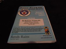 Maine Road v St Helens Town, 2013/14